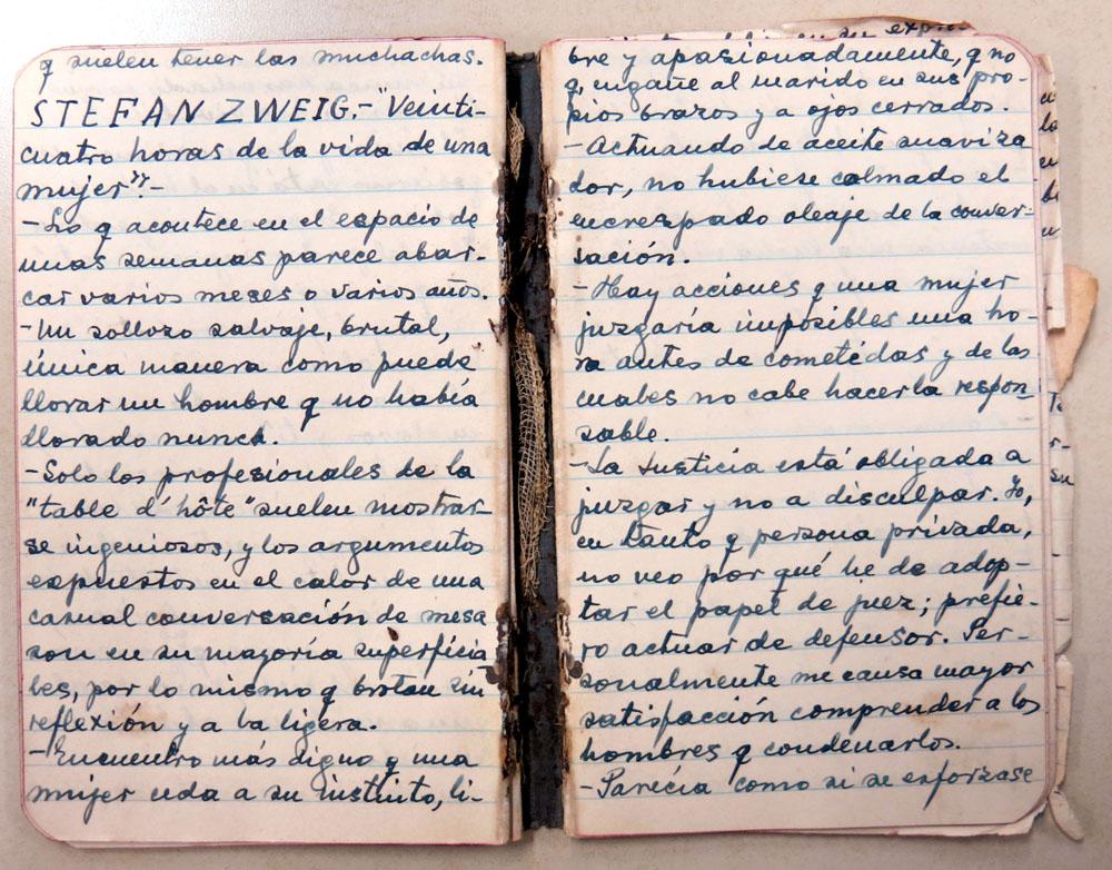 «Stefan Zweig». Archivo familiar.