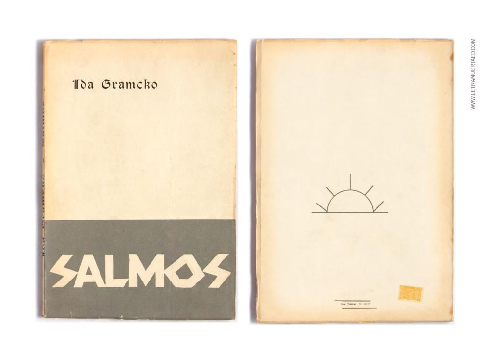 «Salmos». Caracas, Talleres de Impresos Voluntad, 1968. 1a edic. Portada: Luis Chacón.