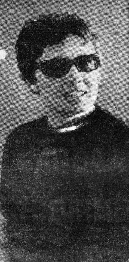 Recorte hemerográfico. Ganadora del Premio Nacional de Periodismo, 1967. Archivo familiar.