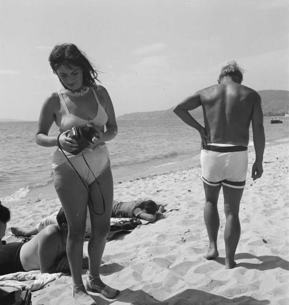Photograph of Dora Maar and Pablo Picasso on the beach September 1937 Eileen Agar 1899-1991 Presented to Tate Archive by Eileen Agar in 1989 and transferred from the photograph collection in 2012. http://www.tate.org.uk/art/archive/TGA-8927-8-9-1