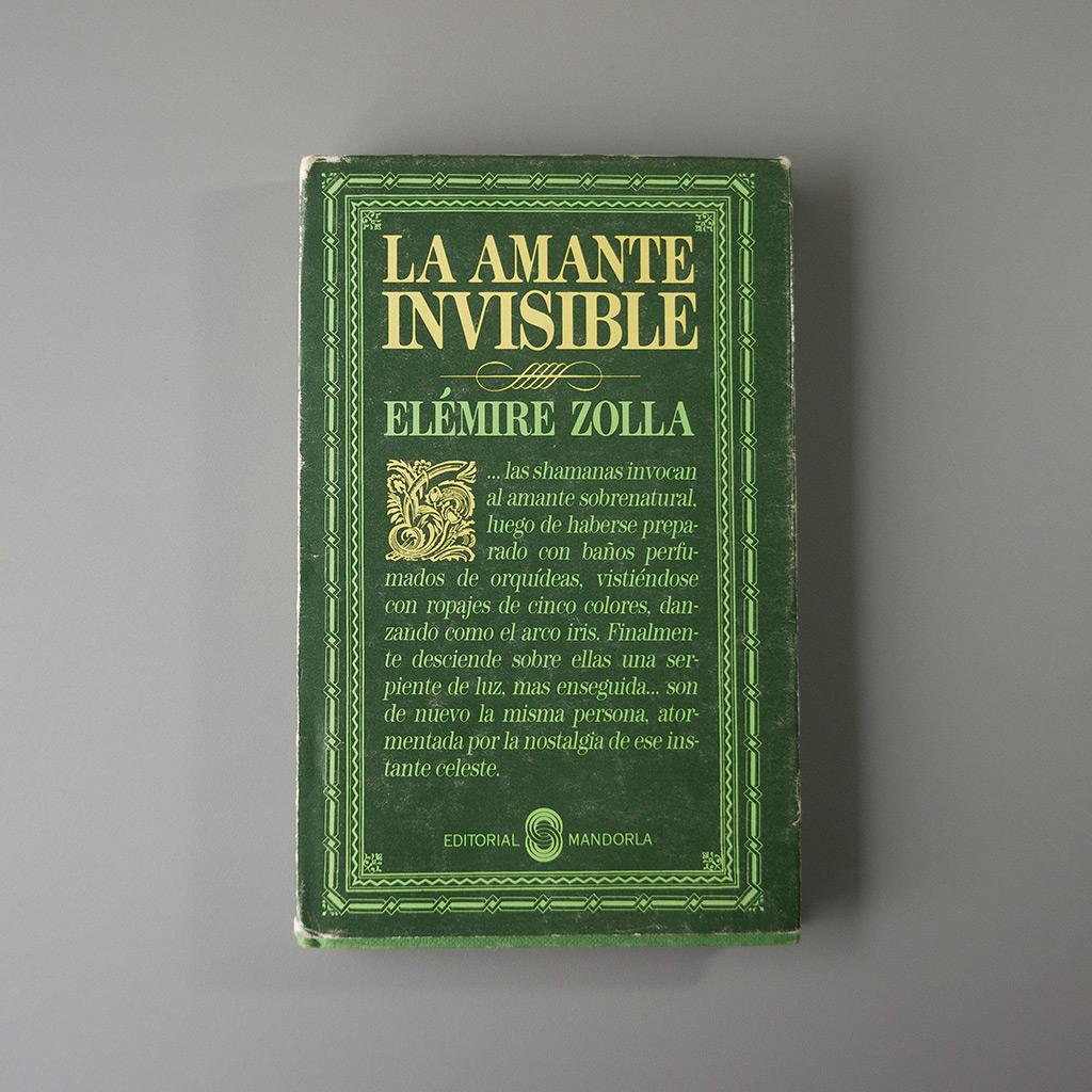Elemire Zolaa - La Amante Invisible - tienda